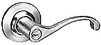 Yale-4300LN Non-Key Leverset Lock - Grade 2 - Privacy, Bedroom or Bath