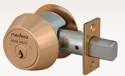 Medeco Maxum Commercial Deadbolt Captive Thumbturn
