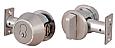 Medeco X4 SFIC Single Cylinder Deadbolt, Thumbturn- 7 Pin