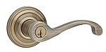 Kwikset Commonwealth Keyed Entry Door Leverset - Entry