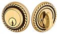Emtek Rope Style Double Cylinder Deadbolt Lock