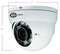 HD CCTV Turret Dome SDI Camera w/1080p (1929 x 1080)