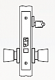 Arrow AM Series Single Cylinder Mortise Lock - Grade 1 - Classroom