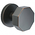 Emtek Octagon Modern Door Knob - Dummy Set