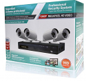 8 Channel Analog Hybrid 1080p DVR & 4 Bullet Camera Kit