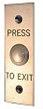 Emergency Exit Push Button - Narrow Face
