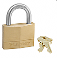 Master Lock Solid Brass Padlock No. 150D - 1 inch Shackle