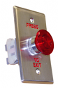 Red Push To Exit Button