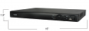 16 Channel and 16 PoE Network Video Recorder