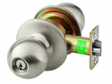 Sargent 8X Line Entry Door Knob - Grade 1 - Less Cylinder