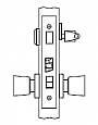 Arrow AM Series Single Cylinder Mortise Lock - Grade 1 - Apartment