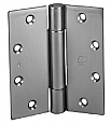 Door Hinge 4 1.5in x 4 1.5in, Brass Standard Weight-TA314-4.5-B